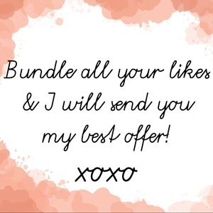 Bundle away!